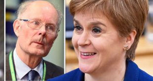 Polling guru Curtice warns Sturgeon on course to tear UK apart with SNP independence surge – Daily Express, Express